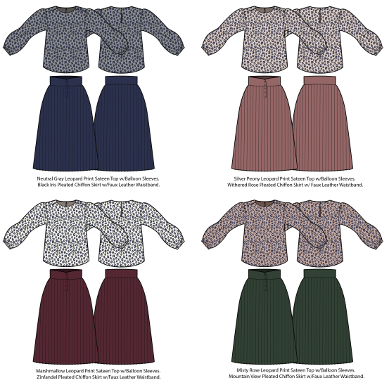 Fall_Skirt Set
